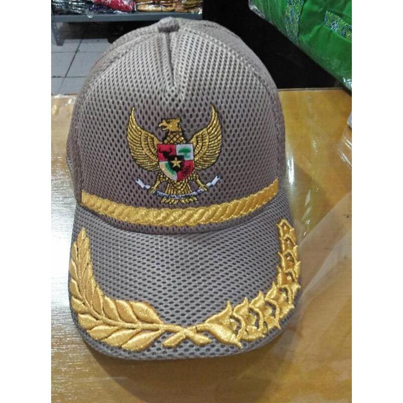 Topi Jaring - Topi Lapangan - Pilkada - Topi Garuda - Kepala Desa - Walikota -