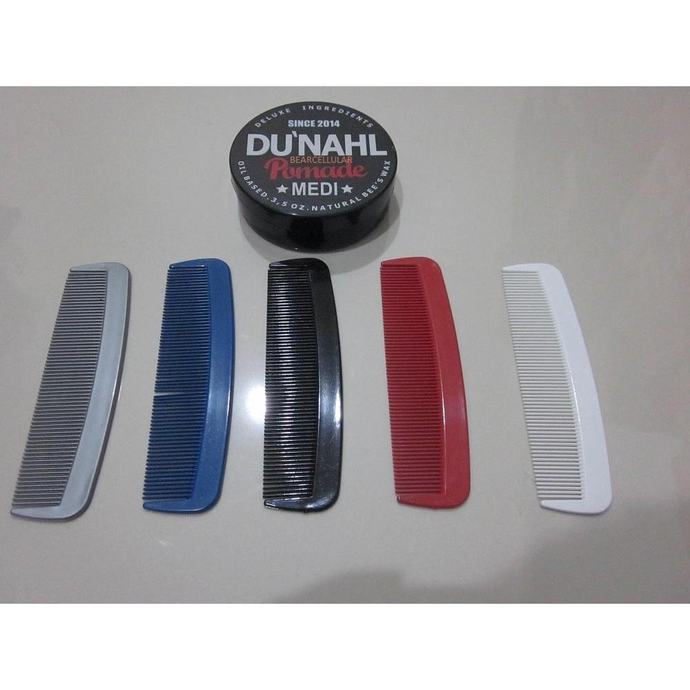POMADE DU'NAHL / DUNAHL LIGHT OILBASED | FREE SISIR UNBREAKABLE | Shopee Indonesia