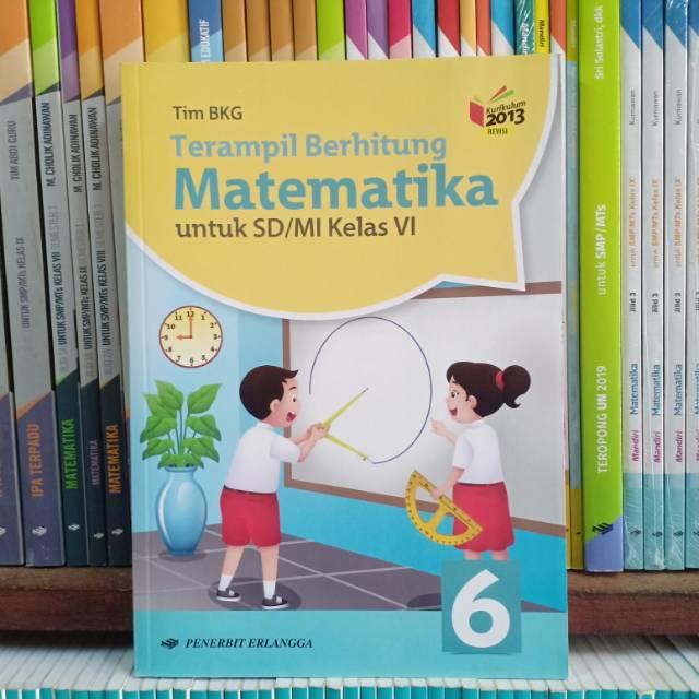 Buku Terampil Berhitung Matematika Kelas 6 Sd K13n Erlangga Shopee Indonesia