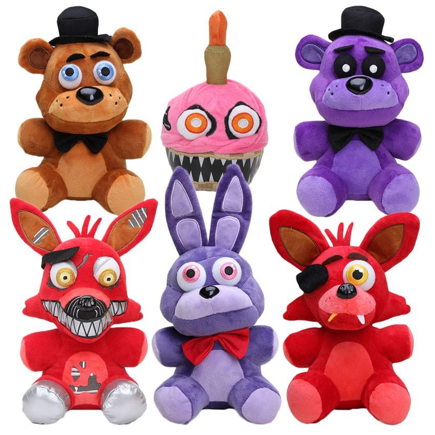 Koala Stuffed Animals Mini, 25cm Five Nights At Freddy S Plush Fnaf Nightmare Freddy Fazbear Foxy Bonnie Cupcake Plush Toys Shopee Indonesia