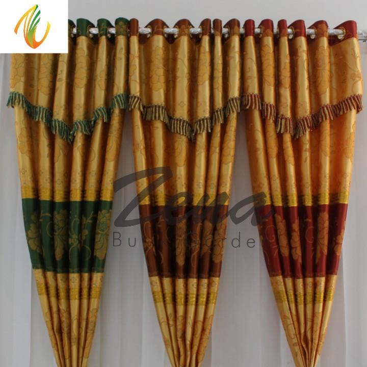 Model Gorden Pintu Kupu Tarung  gorden prada batik poni gorden jendela gordyn motif hordeng tirai pintu minimalis