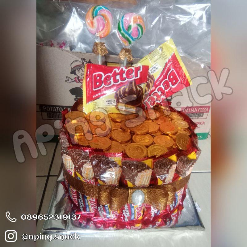 Snack tart / snack tower