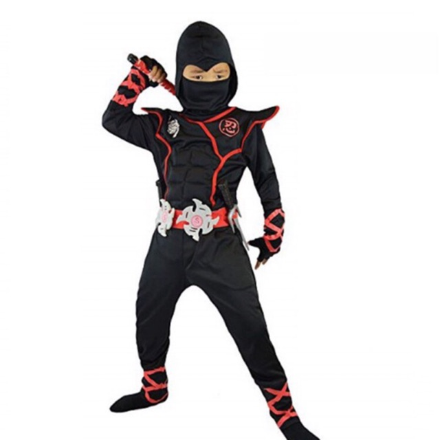 Boys Assassin Muscle Costume