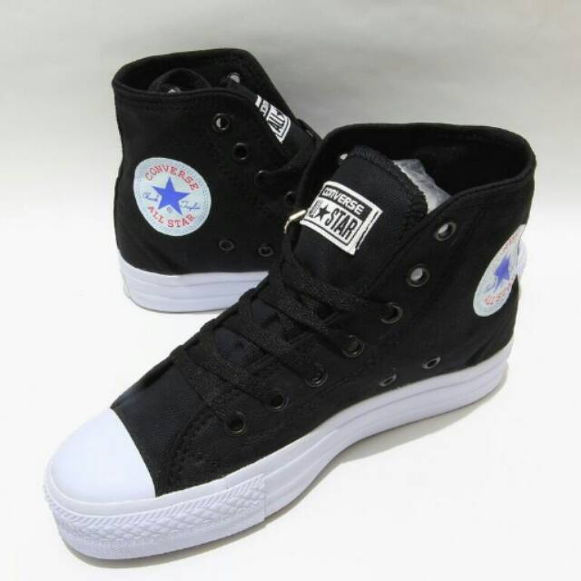 IMPORT VIETNAM  Sepatu Converse Chuck Taylor 2 High - Hitam (FREE BOX)  GRADE ORIGINAL 612bbd3f09