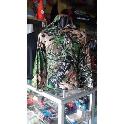 DISKON Kaos Camo Oak Hodie Perbakin Mossy Lengan Panjang / Loreng Army Camo PALING MURAH | Shopee Indonesia
