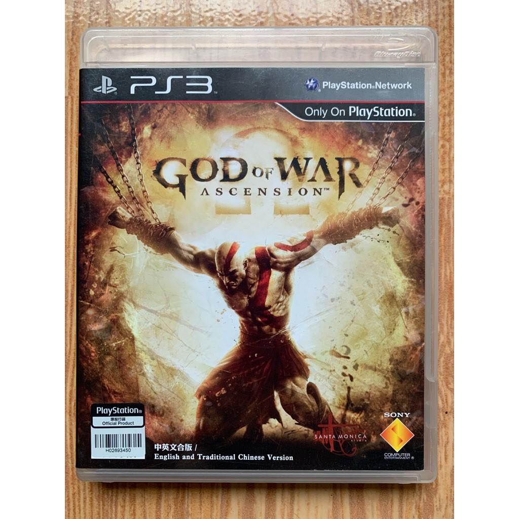Bd Ps3 God Of War Ascension Shopee Indonesia