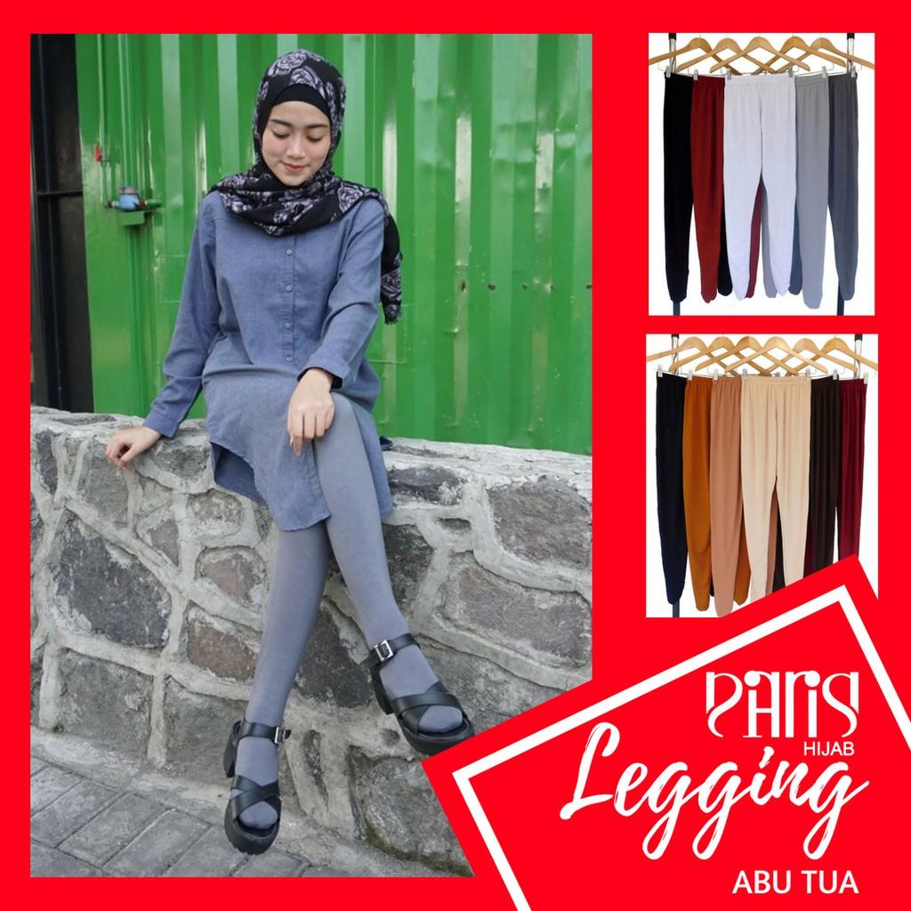 Termurah Legging Wudhu Bahan Spandex Rayon Warna Hitam Maroon Allsize Maroonvanhoutennavysilvermistygrey Shopee Indonesia