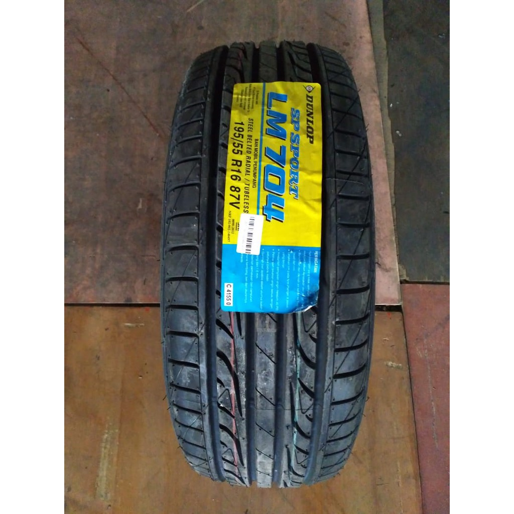 Ban Mobil Dunlop Sp Sport Lm704 195 55 R16 Shopee Indonesia