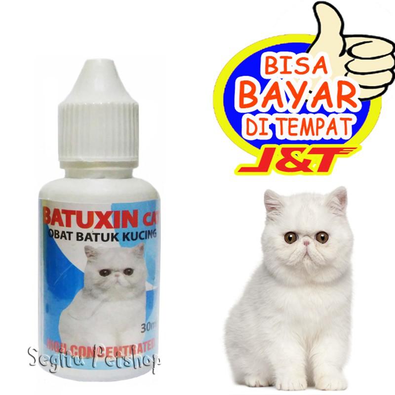 Obat Batuk Kucing Sesak Nafas Flu Asma Batuxin Shopee Indonesia