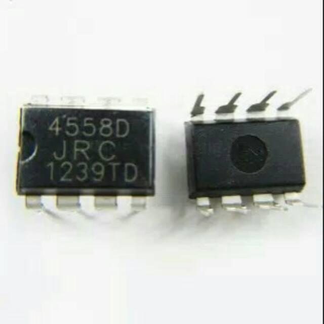 5 pcs IC Op-Amp JRC4558 JRC 4558   Shopee Indonesia