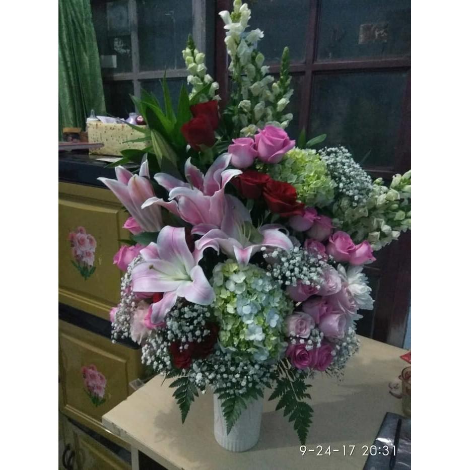 mewarnai gambar bunga bugenvil