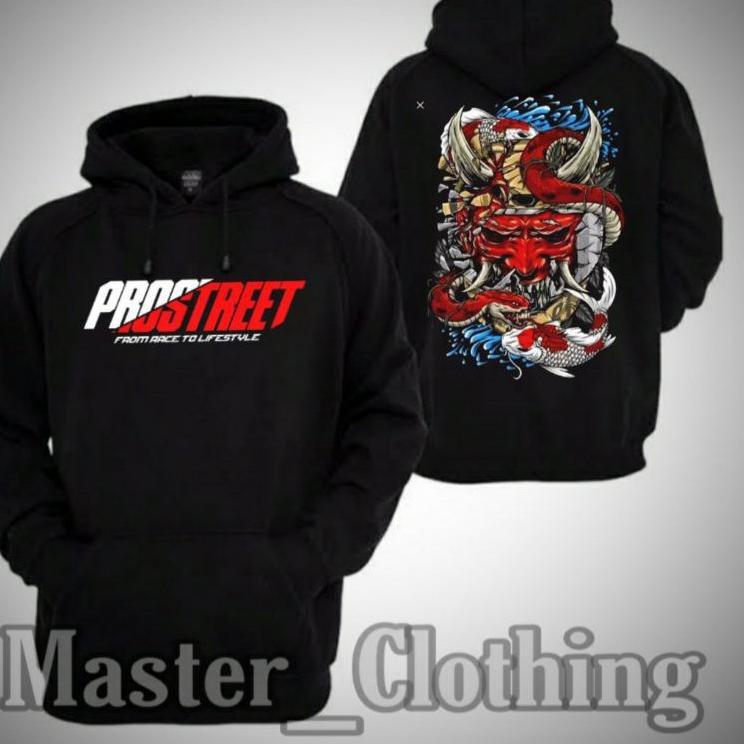 Bayar Di Tempat ▲ Hoodie Jaket Sweater PROSTREET THE LAST KOHAKU Keren Sekali  () ⁂