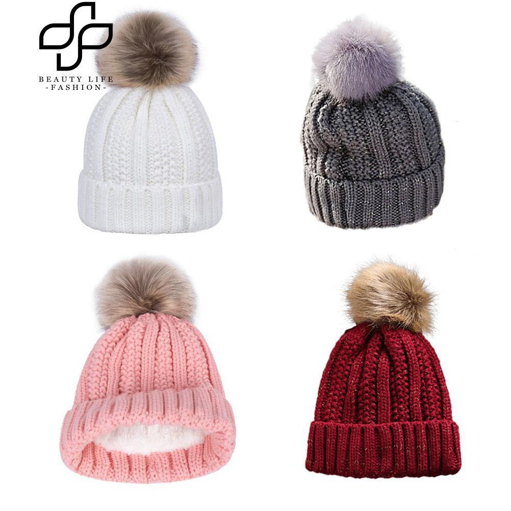 Topi Pria   Wanita Kupluk Rajut Beanie Hat Polos  e7c0adb0a1