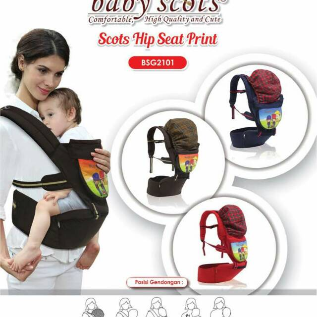 3dd5bc018d9 GENDONGAN HIPSEAT BABY FAMILY By SCOTS