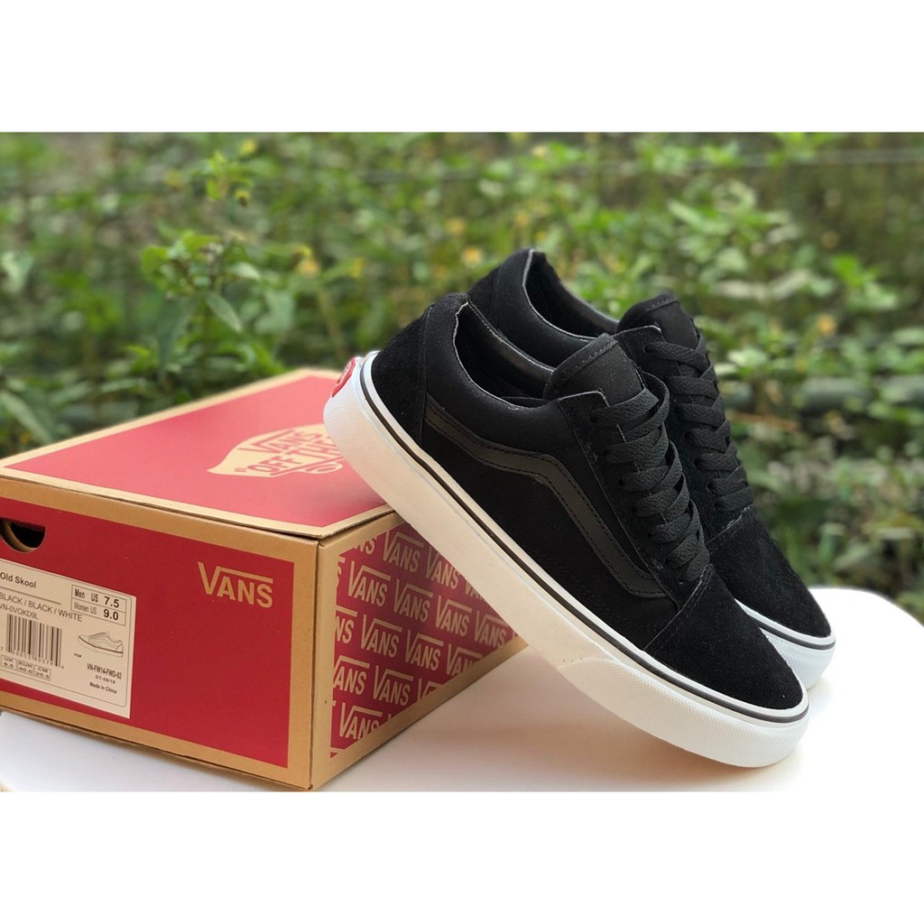 SEPATU VANS OLDSKOOL BLACK WHITE PREMIUM IFC DT BNIB BARCODE FULL TAG MADE  IN CHINA  5a3101fc6