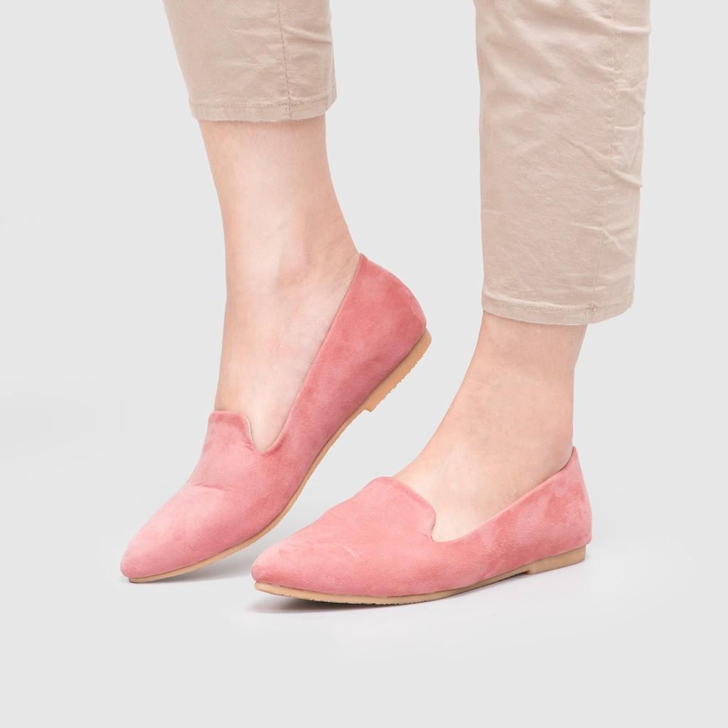Elgorry Pink Flatshoes Shopee Indonesia Amazara Cara Black Maroon Hitam 40