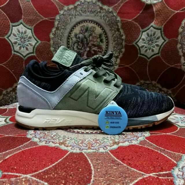 Sepatu New Balance 247 Black Olive - Premium