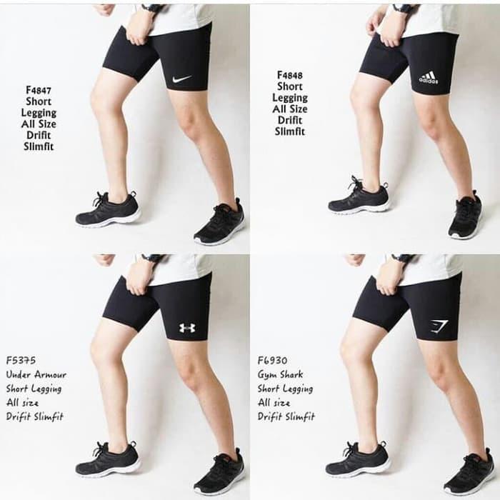 Celana Pendek Legging Pria Sale Gym Shopee Indonesia