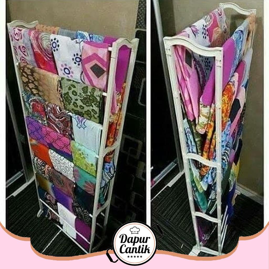 DapurCantik [11gr] Amazing Rak Display Hijab Kerudung Selendang Serbaguna  Shoe Rack - ASRHJ