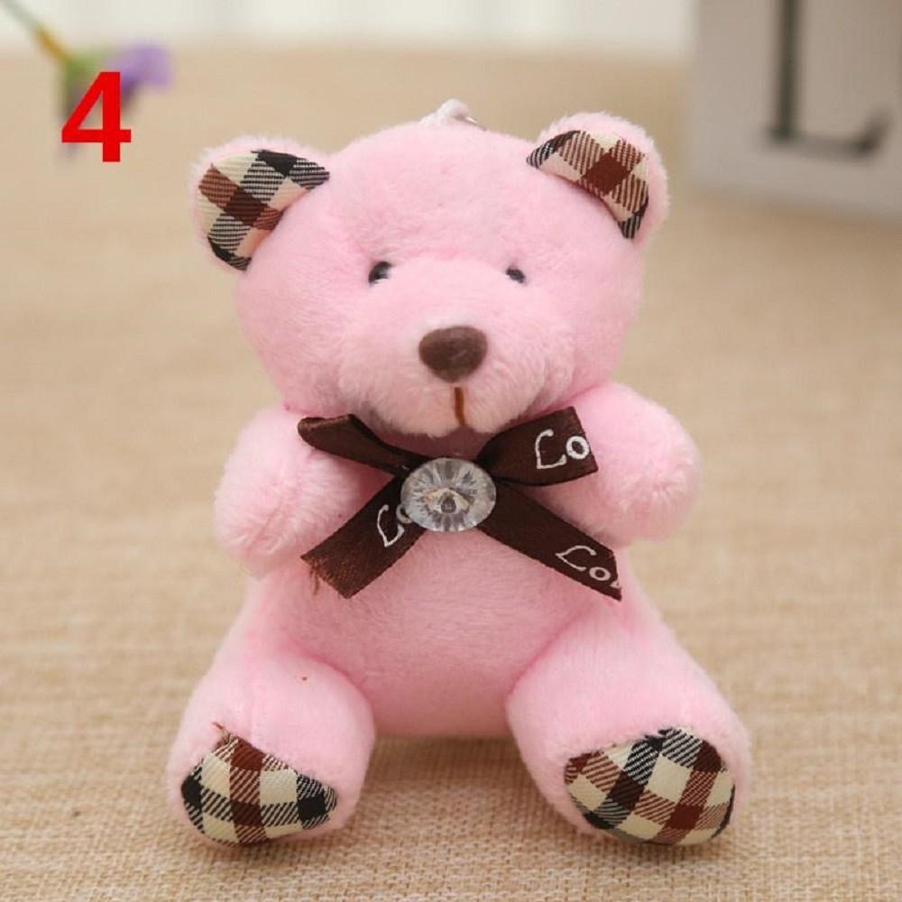 Boneka Teddy Bear Kartun Ukuran Kecil Bahan Plush Untuk Hadiah Shopee Indonesia