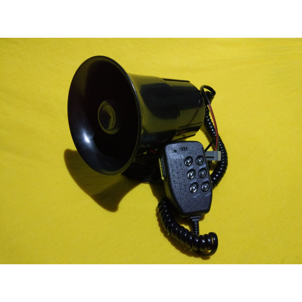 Virgo Racing Klakson Toa 6 Suara 12v Microphone Daftar Harga Modul Sirine 12 Interphase