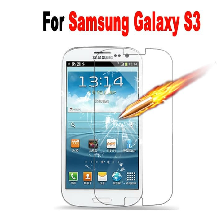 Tempered Glass SAMSUNG GALAXY S3/I9300 /Screen Protector / AntiGores | Shopee Indonesia