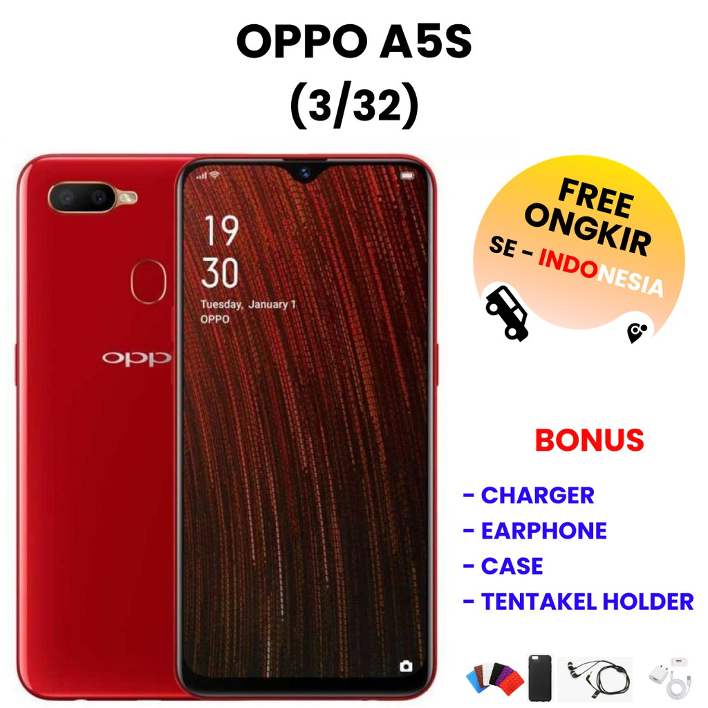 OPPO A5S 3/32   HP Bekas   Smartphone Bekas   Handphone Bekas   Handphone Murah   HP Ori