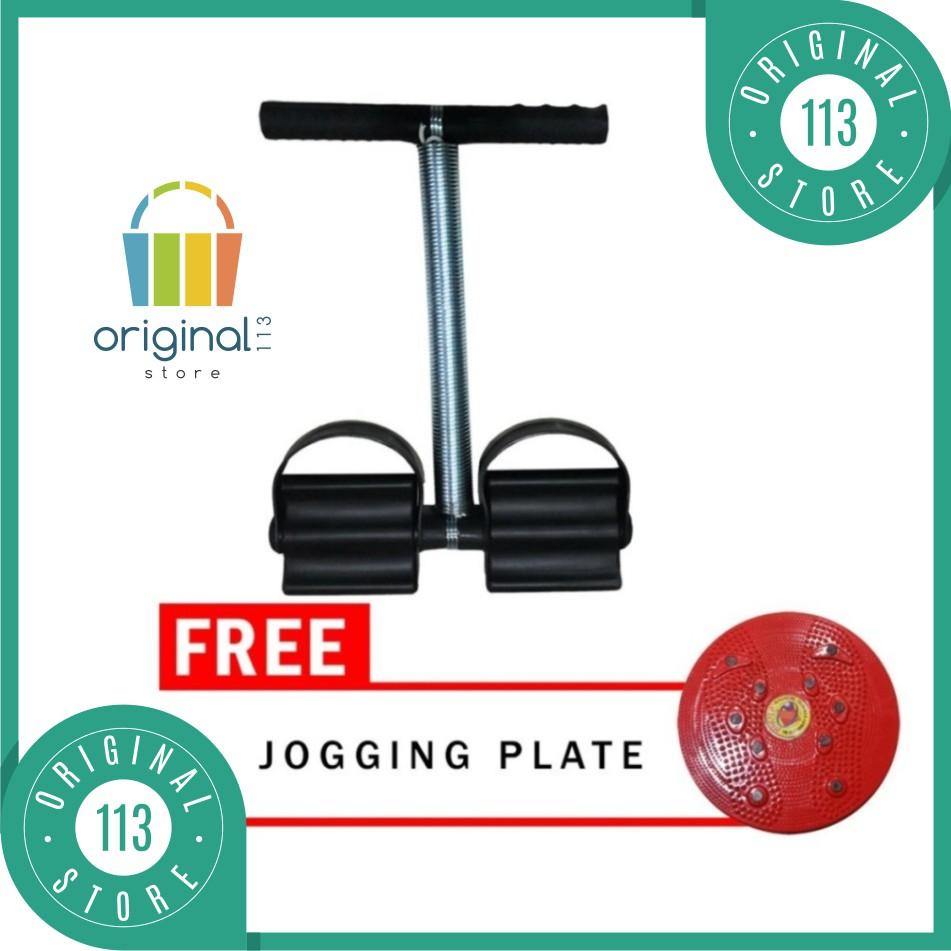 Paket Combo Alat Kesehatan Fitness Tummy Trimmer Dan Nikita Jogging Plate Magnetic Olahraga Portable Body Shopee Indonesia