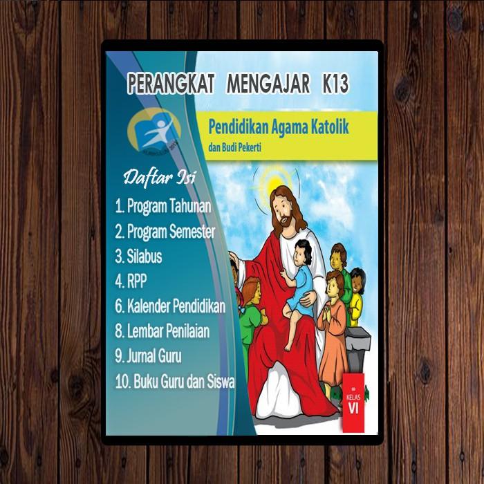 Rpp K13 Agama Katolik Sd Kelas 1 6 Guru Ilmu Sosial