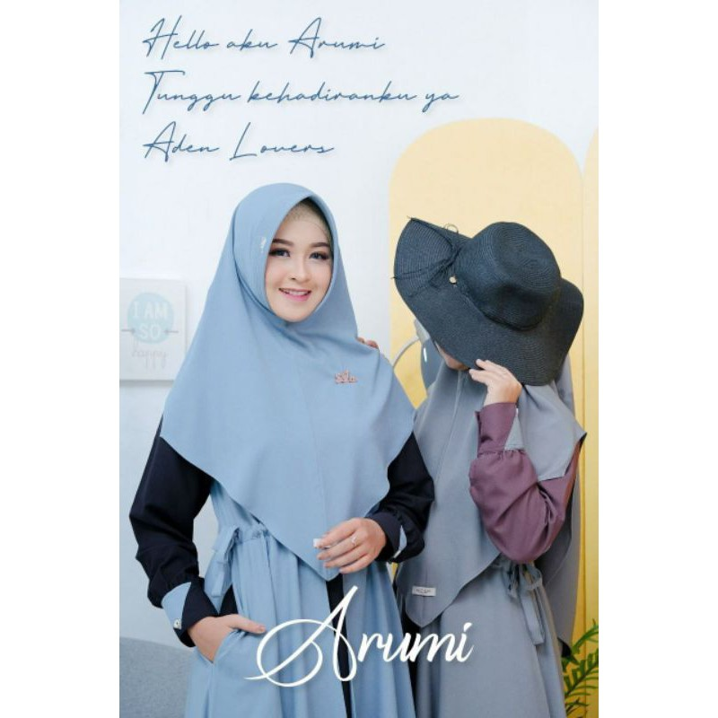 arumi by aden hijab / gamis ori / gamis set hijab / gamismodern12