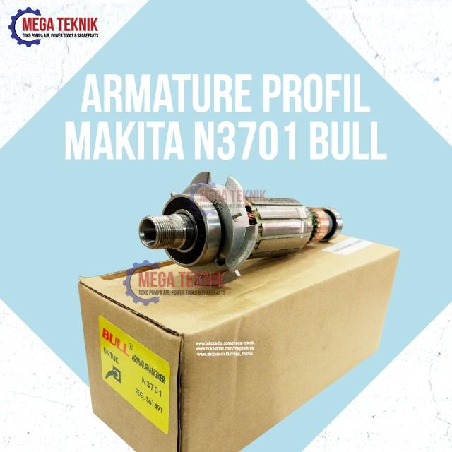 Armature Angker Mesin Profil Wood Trimmer Kayu Makita N3701 Bull | Shopee Indonesia