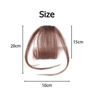 Bangs Clip hair Clip Thin Korean Cheap Korea Poni Palsu Poni Tipis Rambut Palsu Wig Tipis Korea Tidak Terlihat Tanpa Jejak 2