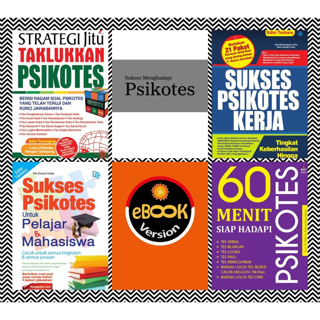 Ebook Jurus LULUS TES PSIKOTES Kerja Pelajar Mahasiswa 2019 2020 2021 LENGKAP