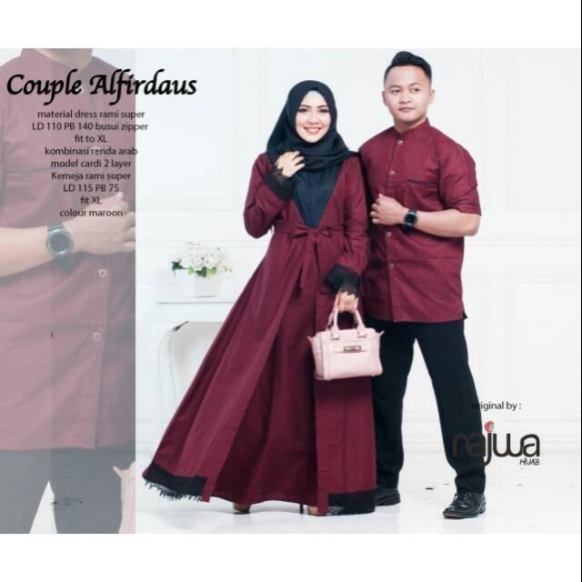 Baju Muslim Couple Suami Istri 001 Shopee Indonesia