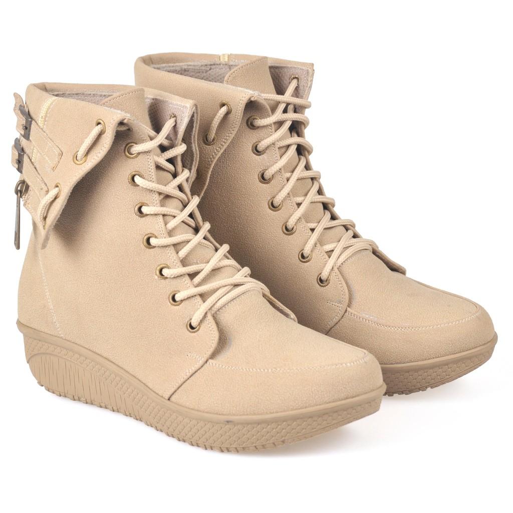 Produk Unggulan Sepatu Boots Wanita Pita Sbo315 Murah Meriah E Sapi Pb34 Shopee Indonesia