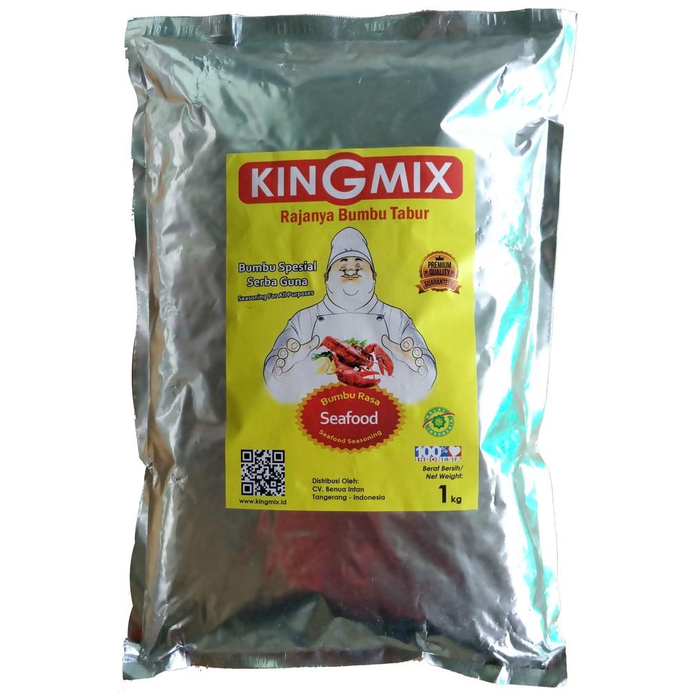 Bumbu Tabur Kingmix Rasa Sapi Panggang 1 Kg King Mix Shopee Indonesia Premium Rumput Laut