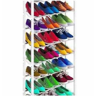 Amazing Shoe Rack: Tempat / Rak Sepatu Sandal 10 Susun Rakitan Murah