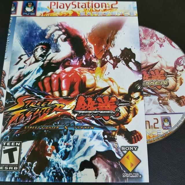 Kaset Cd Game Ps2 Terlaris Street Fighter X Tekken Game