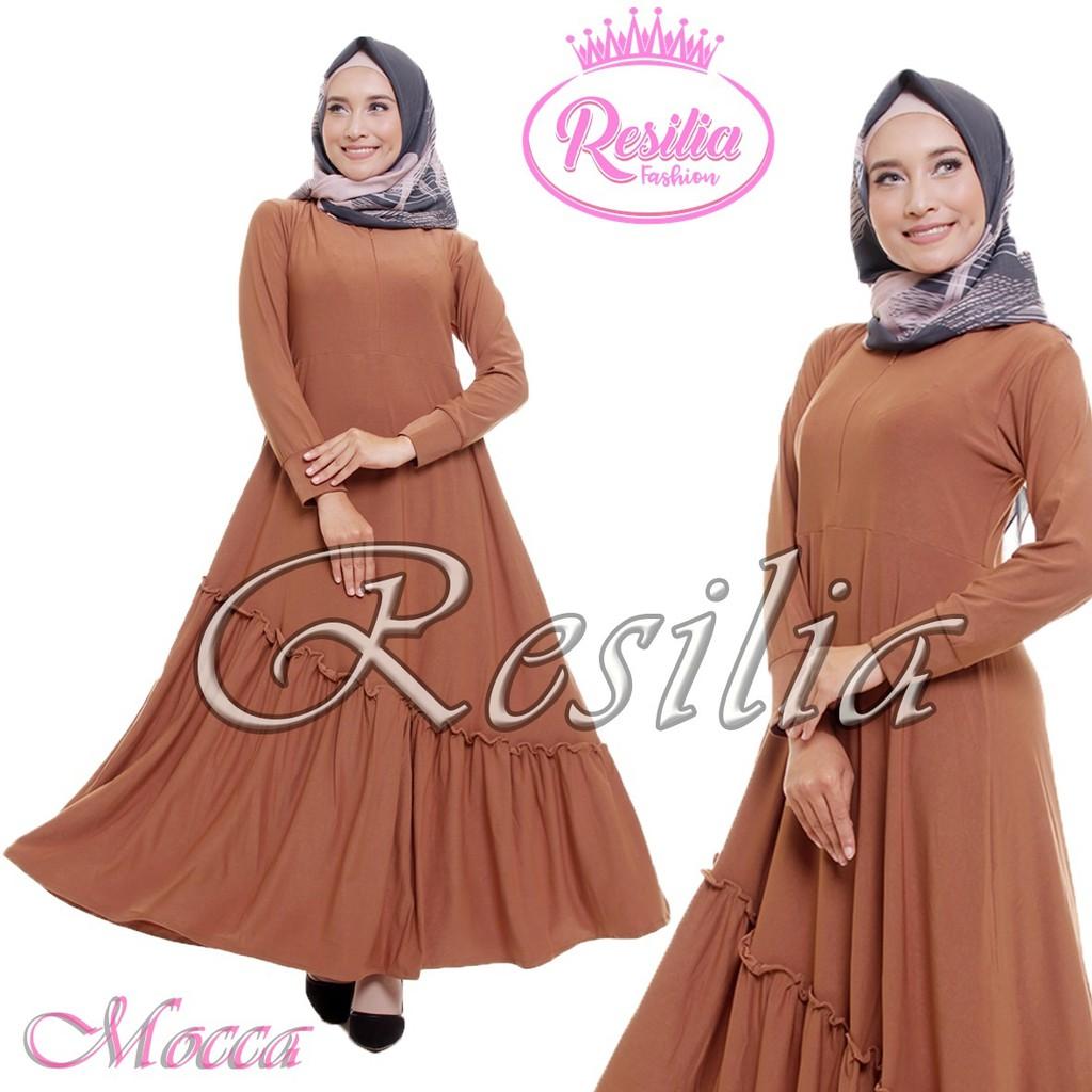 Brenda Dress Muslim Baju Wanita Hijab Gamis Modern Pakaian Terbaru 2018  3ef50279f6
