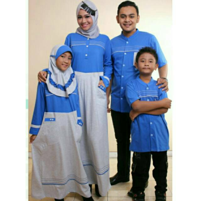 ZAFA & ZAFIRA Seragam keluarga couple sarimbit muslim Gamis Koko Ibu Ayah Anak murah branded modern | Shopee Indonesia