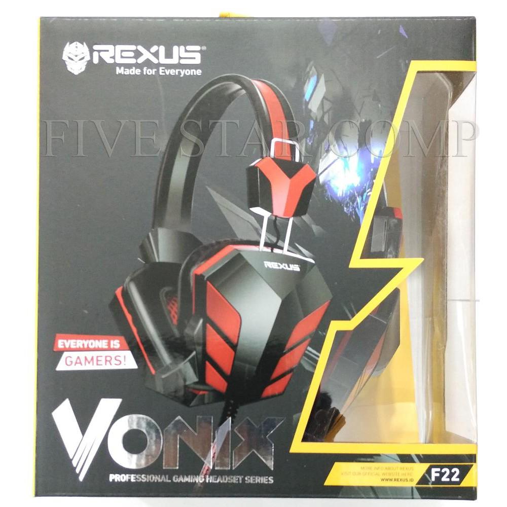 Headset Gaming Rexus F22 Shopee Indonesia