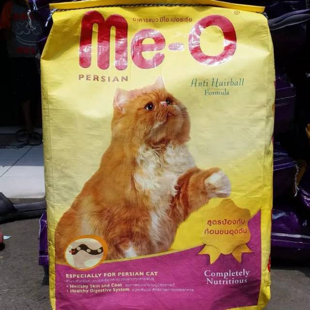 Meo Persian Anti Hairball Repack 1 Kg Makanan Kucing Shopee