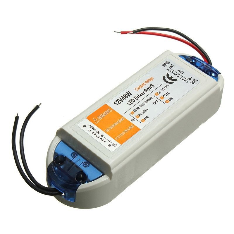 12V-24V 10W Constant Current LED Drive Driver Power Supply DC 800mA Car battery
