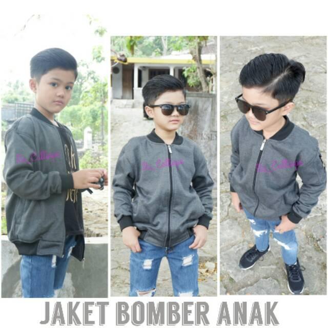 60 Model Jaket Bomber Anak Terbaik