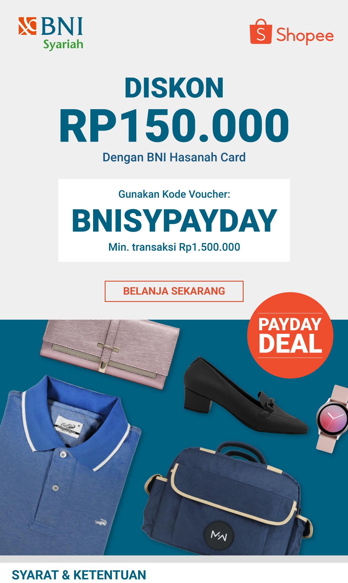 Promo Special Payday Bni Syariah