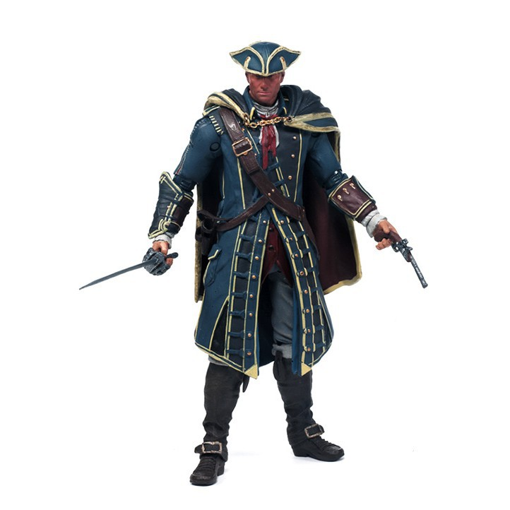 Action Figure Assassin S Creed Iii Seri 1 Haytham Kenway Shopee