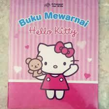 Hello Kitty Buku Mewarnai Hello Kitty Shopee Indonesia