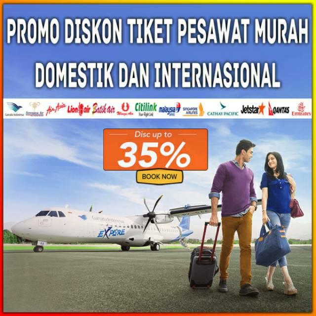 Promo Tiket Pesawat All Maskapai Shopee Indonesia