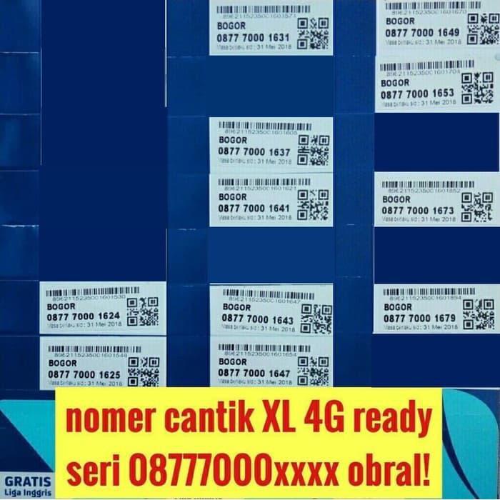 Nomer cantik XL 11 digit 4G kartu perdana nomor langka pilihan rapih   Shopee Indonesia