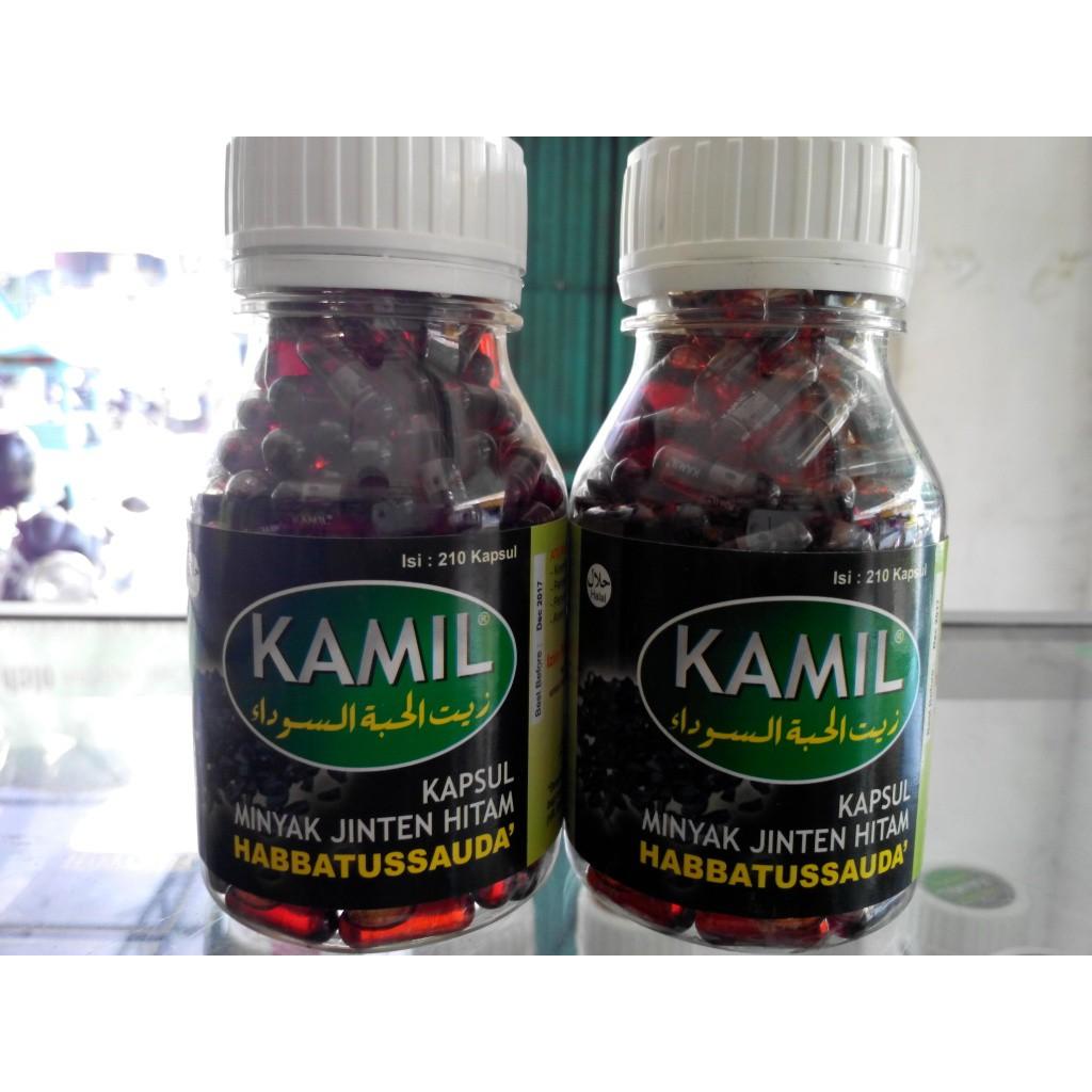 Kamil Kapsul Habbatussauda Oil Minyak Jinten Hitam 210 Kapsul Shopee Indonesia